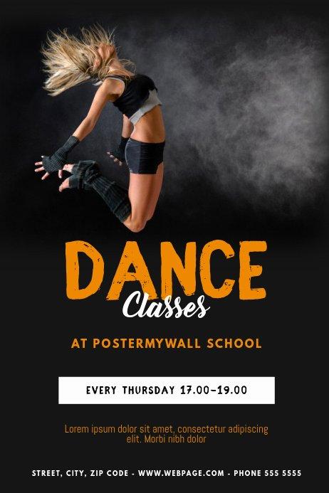 School Dance Flyer Template Best Of Dance Classes Flyer Template