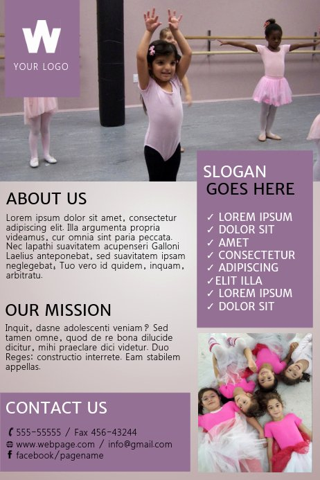 School Dance Flyer Template Elegant Dance Flyer Template