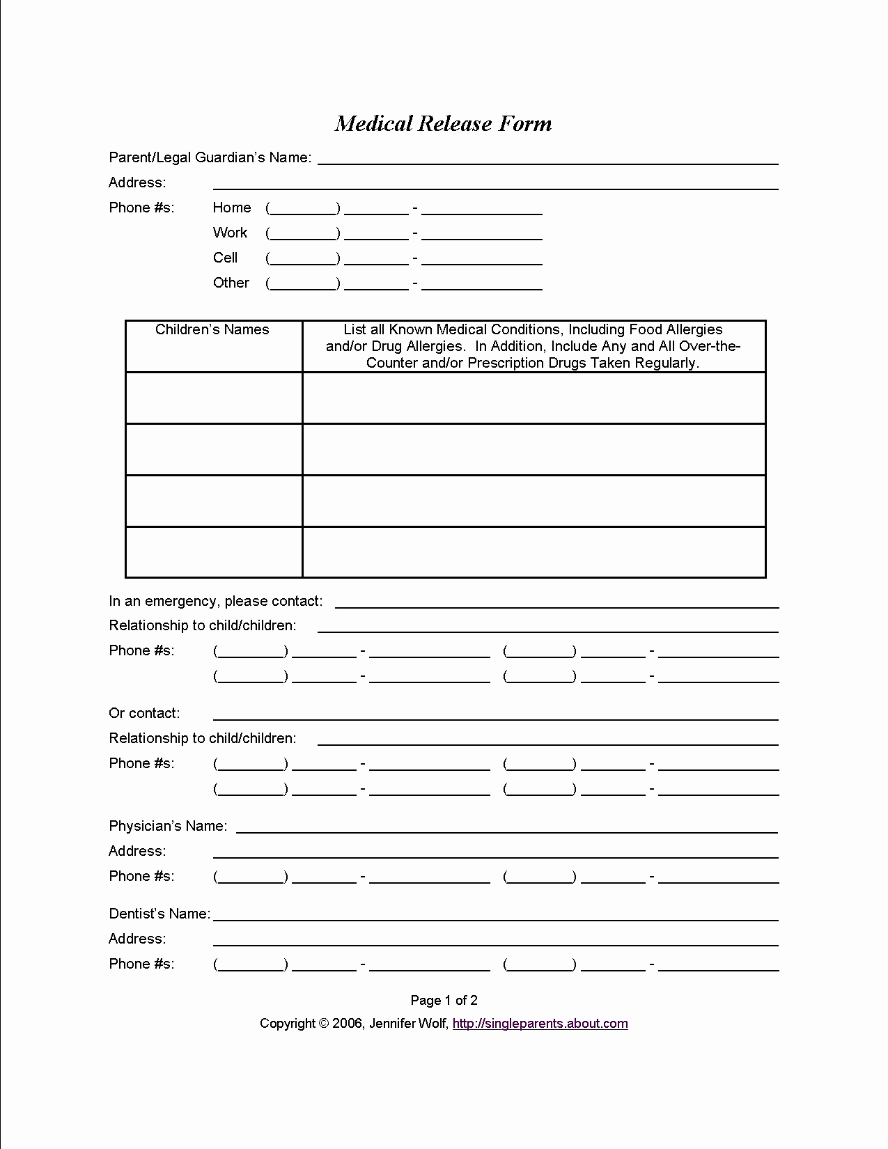 School Media Release form Awesome Medical Consent form when You Might Need E