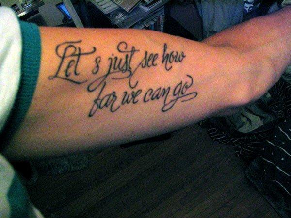 Script Fonts for Tattoos Beautiful Zimbio Celebrity Tattoo Writing Fonts