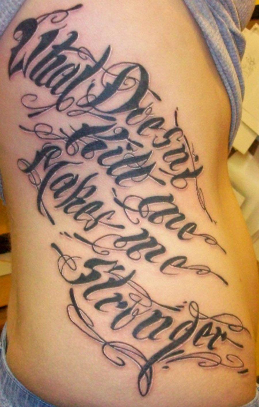 Script Fonts for Tattoos Best Of Tattoo Fonts Cursiveteulugar