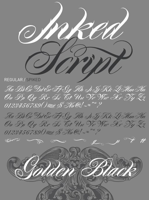 Script Fonts for Tattoos Unique 10 Best Tattoo Fonts Typefaces that Give Your Letters A