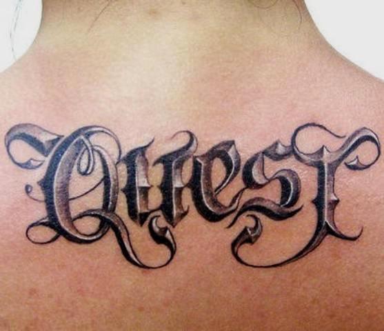 """Script Fonts for Tattoos Unique Tattoo Ideal """"fonts Script"""" 3d Tattoos"""