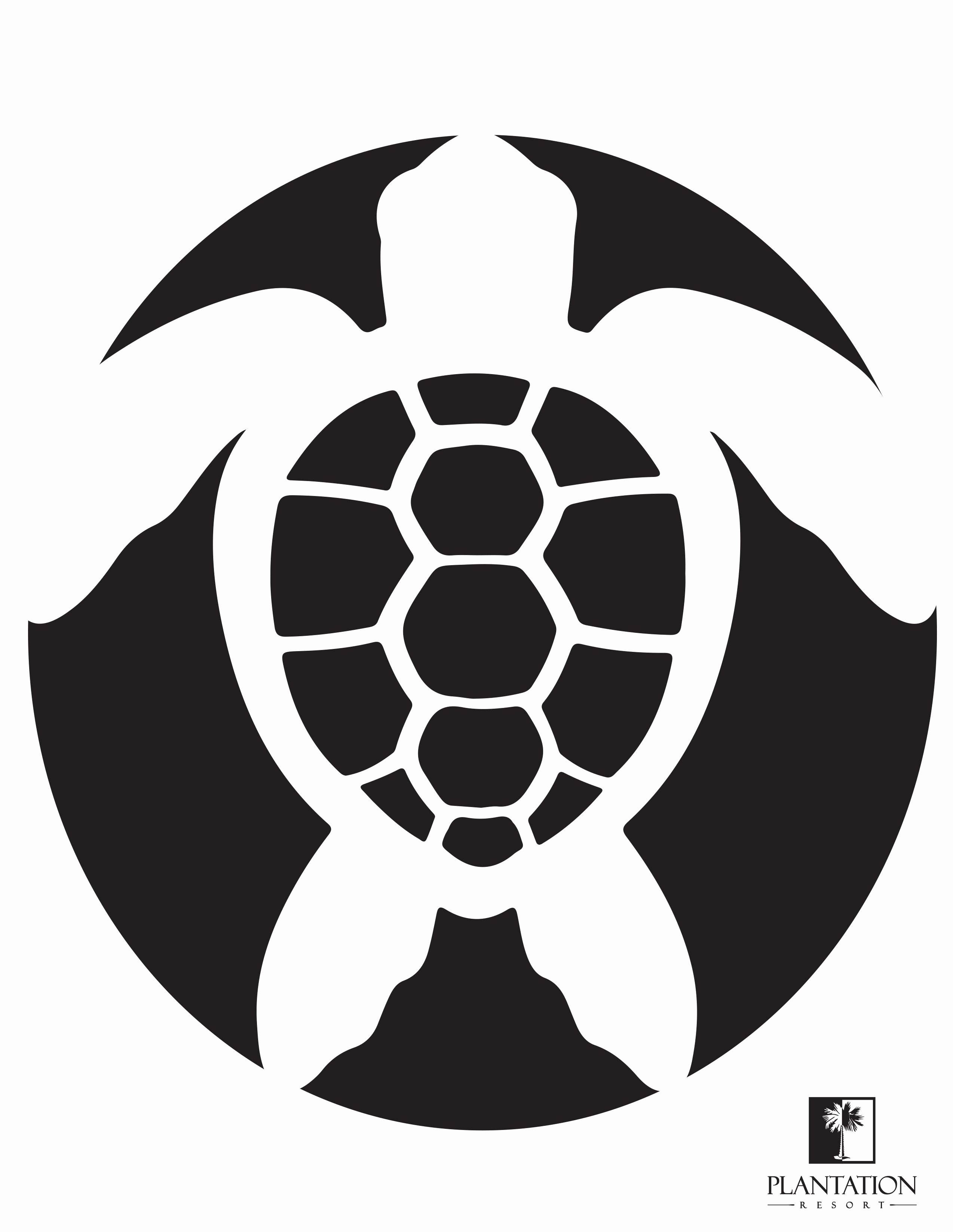 Sea Turtle Stencil Template Fresh Sea Turtle Pumpkin Stencil Print Out This Sea Turtle
