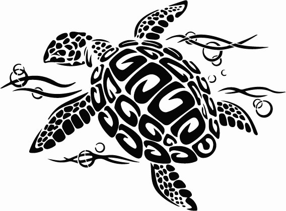 Sea Turtle Stencil Template Lovely Turtle Stencil for Walls or Fabrics Available to Online