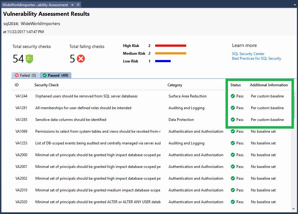 Security assessment Report Template Elegant Sql Vulnerability assessment Sql Server