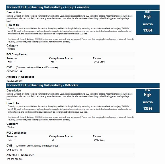 Security assessment Report Template New 22 Of Network Vulnerability assessment Template