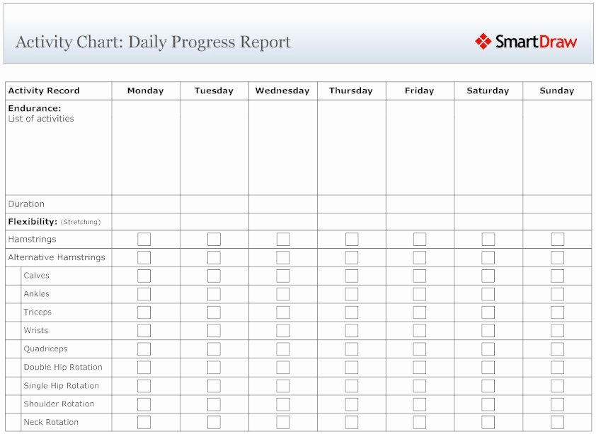 Security Daily Activity Report Template Inspirational Security Daily Activity Report Example Calendar June