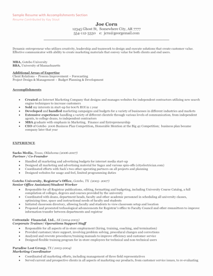Self Employed Letter Template Inspirational the Entrepreneur Resume and Cover Letter What to Include