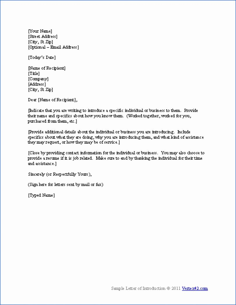 Self Introduction Letter Sample Beautiful Best S Of Professional Self Introduction Letter