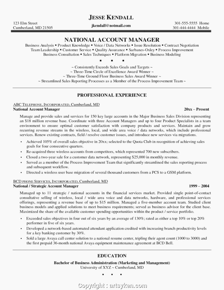 Senior Accounts Manager Job Description Best Of Five Account Manager Job