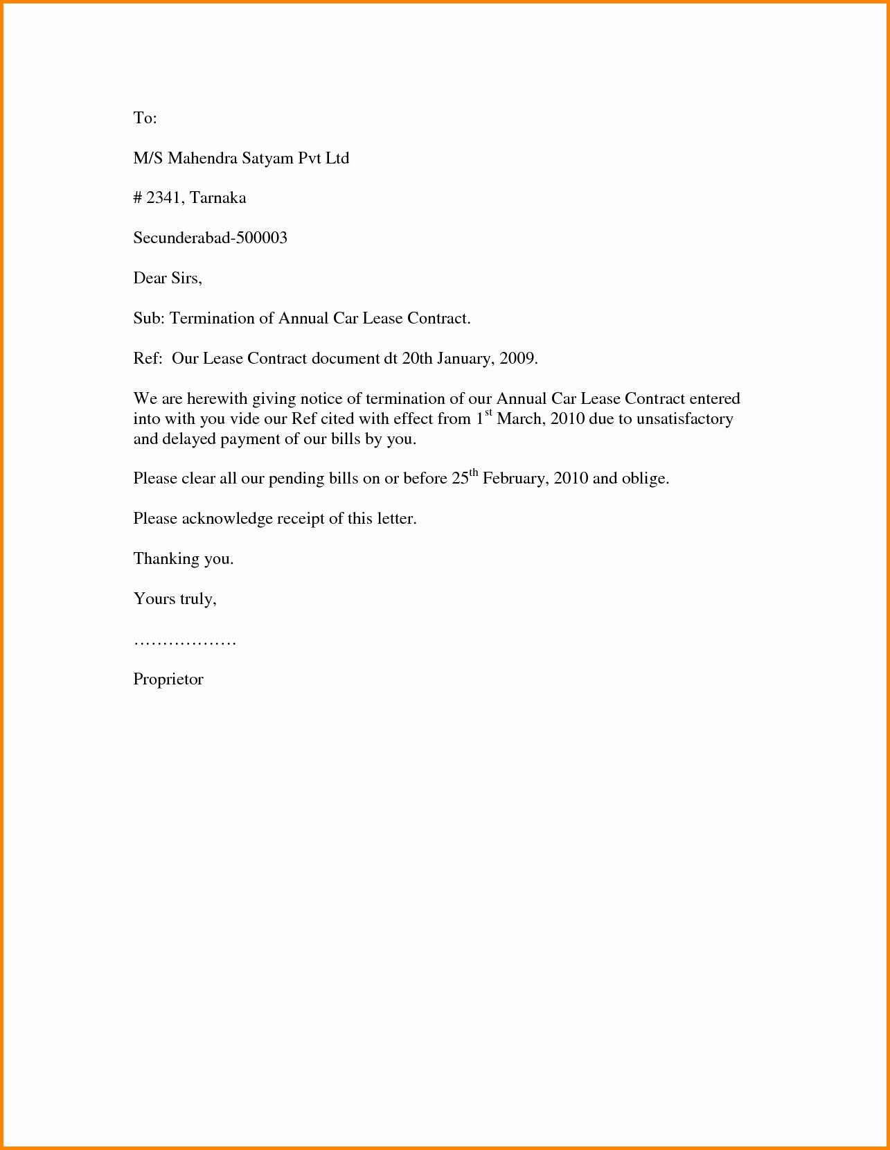 Separation Letter to Employee New Separation Letter to Employee Template Examples