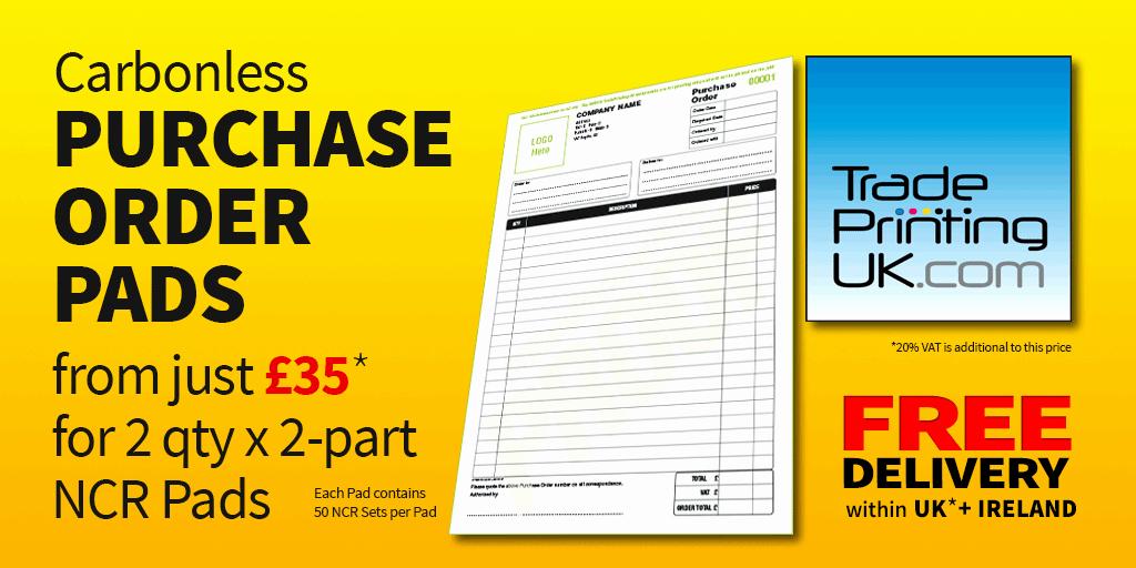 Server order Pad Template Fresh Purchase order Template Artwork for Carbonless Ncr Print
