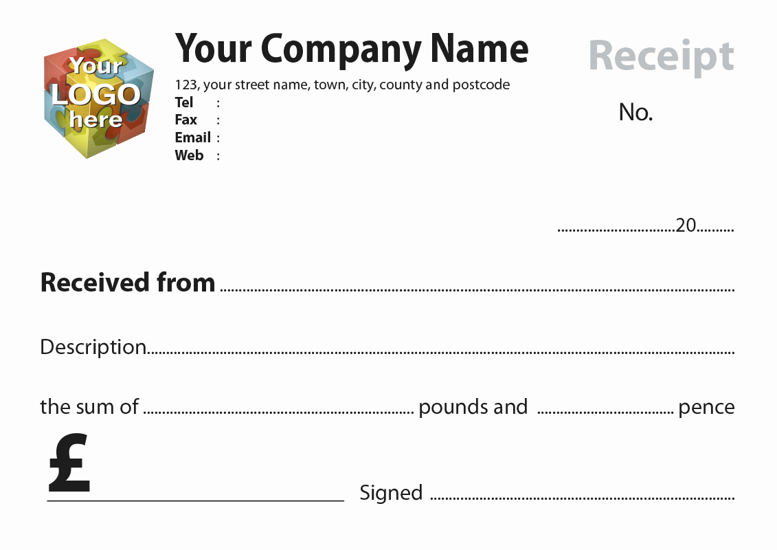 Server order Pad Template Fresh Receipt Templates Artwork for Carbonless Ncr Print From £30