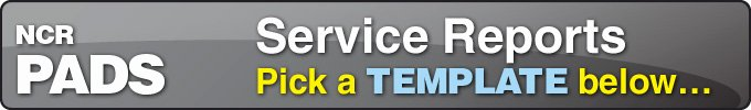 Server order Pad Template New Free Service Report Pads Templates