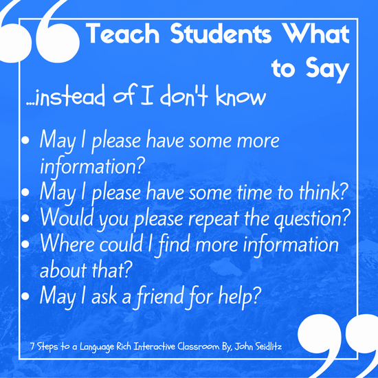 Seven Step Lesson Plan New 7 Steps Language Rich Classrooms