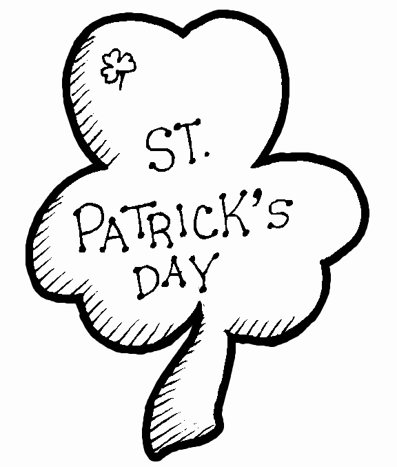 Shamrock Pictures to Print Awesome Printable St Patrick S Day Coloring Pages Best Coloring