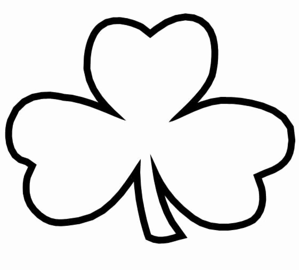 Shamrock Pictures to Print Inspirational Get This Line Shamrock Coloring Pages for Kids Sz5em
