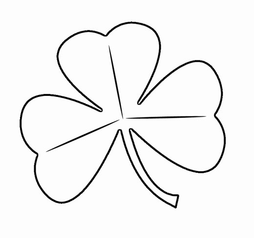 Shamrock Pictures to Print Lovely Free St Patrick S Day Shamrocks Clip Art