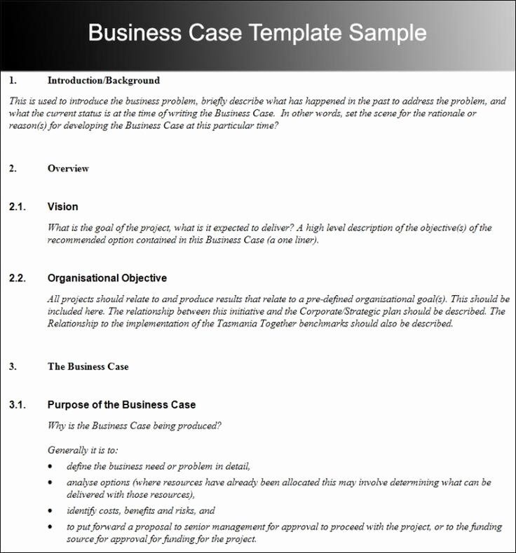 Short Case Study Examples Awesome Business Case Template Template