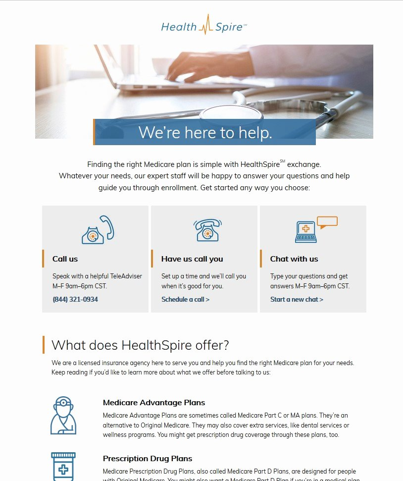 Short Case Study Examples Fresh Landing Page Optimization How Aetna's Healthspire Startup