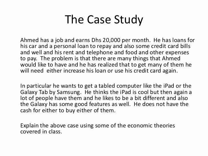 Short Case Study Examples Luxury for My Students Example Case Study solution P2 2011
