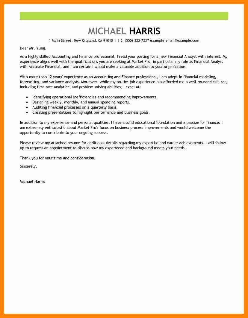 Short Cover Letter Example New 9 Short Cover Letter for Job Application