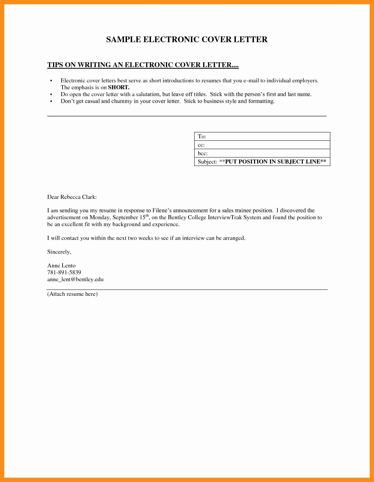Short Cover Letter Sample Best Of 12 13 Brief Cover Letter Examples
