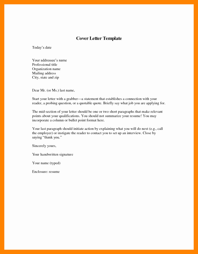 Short Cover Letter Sample Lovely 7 Short Application Cover Letter