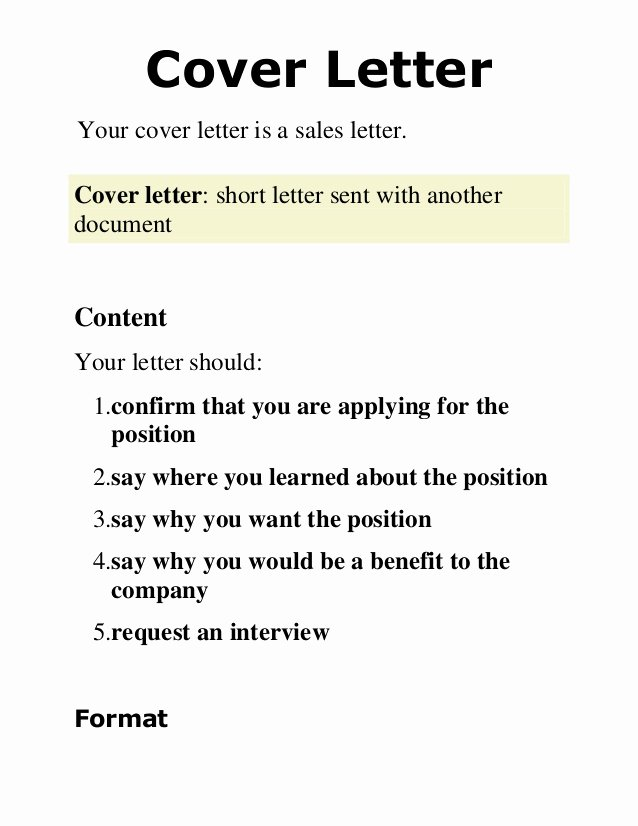 Short Cover Letter Sample Unique 2 Cover Letter Presentation