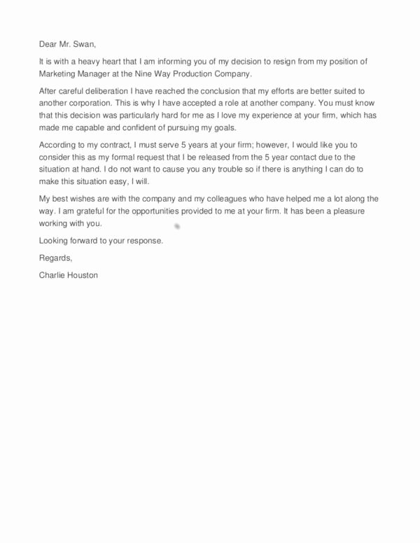 Short Notice Resignation Letter Unique Steps You Need to Take before Sending Your Resignation