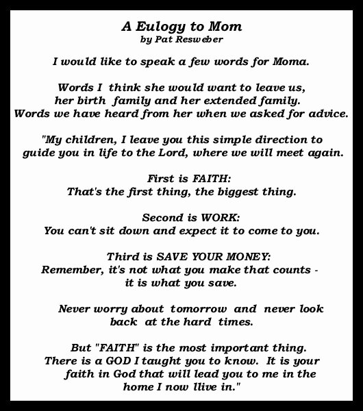 Short Simple Eulogy Examples Luxury Eulogy Quotes for Mother Image Quotes at Relatably