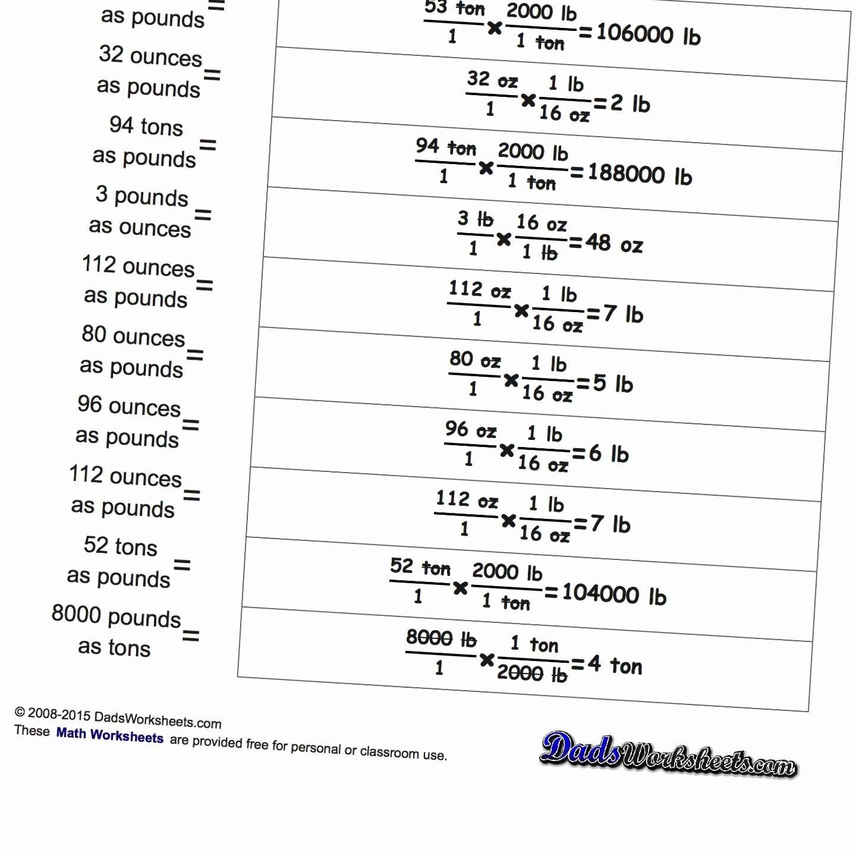 Si Unit Conversion Worksheet Beautiful Unit Conversion Worksheet Answers Worksheet Idea Template