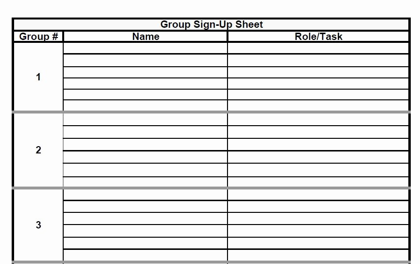 Sign Up Sheet Example Beautiful the Admin Bitch Download Group Project Sign Up Sheet