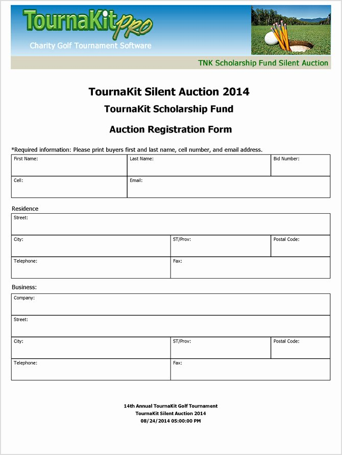 Silent Auction forms Beautiful Charity Auction forms 108 Silent Auction Bid
