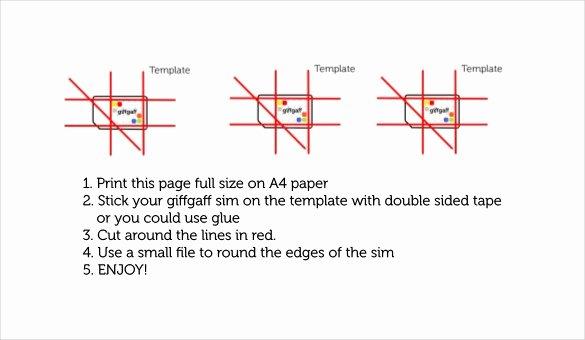micro sim template 10 free word pdf documents free inside micro sim template