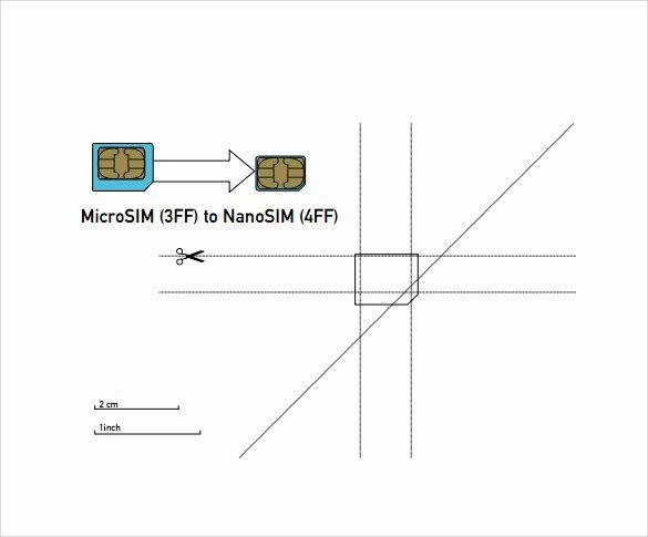 Sim Card Cut Template Beautiful 30 Of Micro to Nano Sim Template Pdf