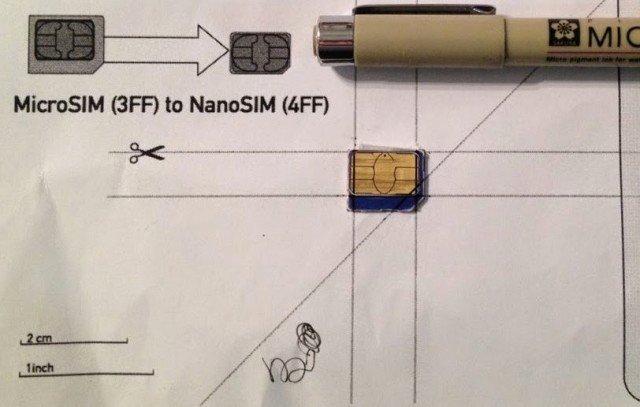 Sim Card Cut Template Elegant How to Cut A Micro Sim Into A Nano Sim Your Repair