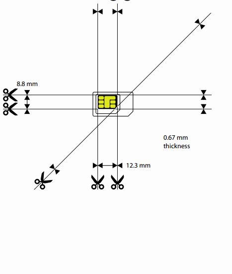 Sim Card Cut Template Fresh Cut Sim Card to Nano Sim Template Pdf