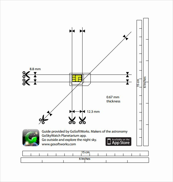 Sim Card Cut Template Inspirational 30 Of Micro to Nano Sim Template Pdf