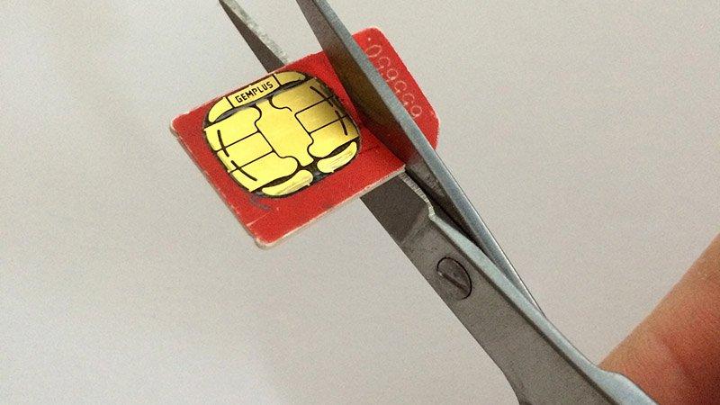 Sim Card Cut Template Inspirational How to Cut Down A Sim Card Make A Free Nano Sim for