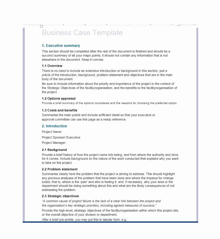Simple Business Case Examples Inspirational 30 Simple Business Case Templates & Examples Template Lab