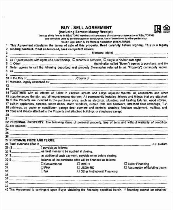 Simple Buy Sell Agreement form Beautiful Printable Agreement Samples