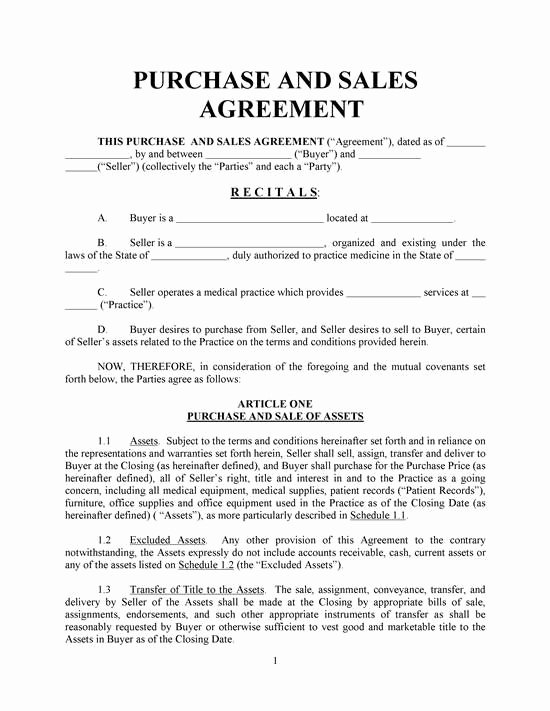 Simple Buy Sell Agreement form Inspirational Simple Home Purchase Agreement Template