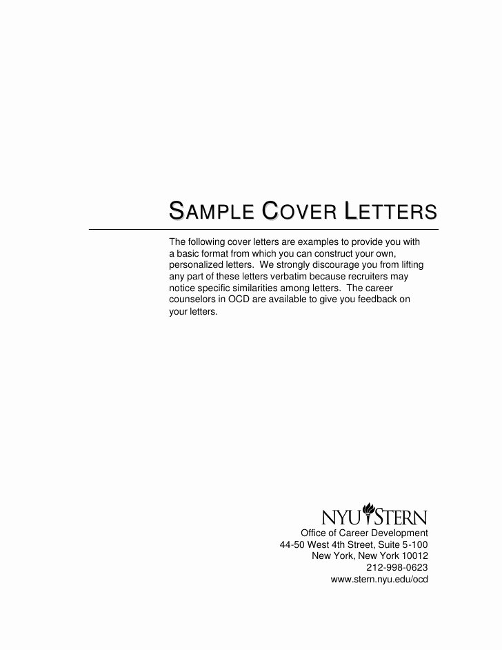 Simple Job Cover Letter Examples Best Of Cover Letter Samples