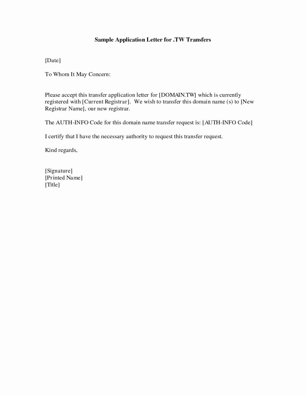 Simple Job Cover Letter Examples Luxury Cover Letter Example Simple Cover Letter Example for Job