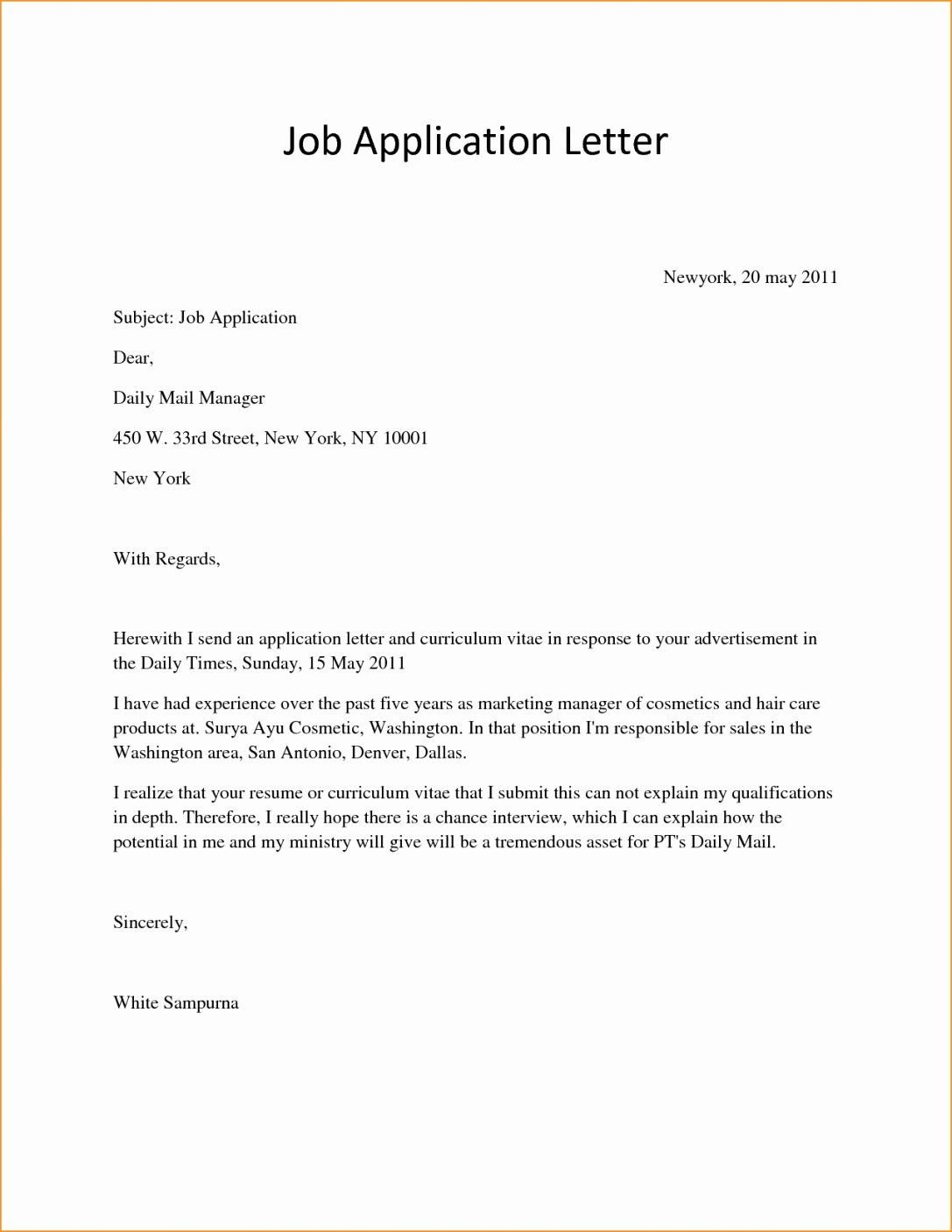 Simple Resume Cover Letter Sample Beautiful Kairos Letters Examples Wemaketotem