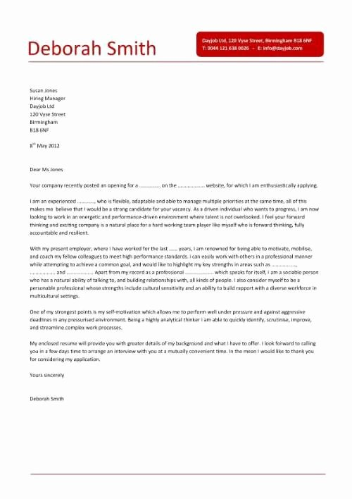 Simple Resume Cover Letter Sample Lovely Simple Cover Letter Design that is Clear Concise and