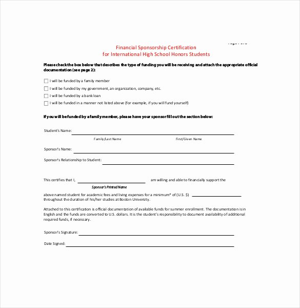 Simple Sponsorship Agreement Template Luxury Sponsorship Agreement Template – 12 Free Word Pdf