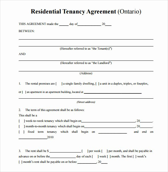 Simple Vehicle Lease Agreement Awesome Sample Residential Rental Agreement 12 Examples & format